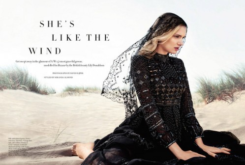 Harper's Bazaar | Lily Donaldson