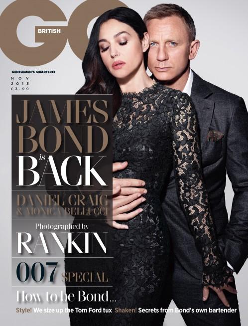 GQ   Daniel Craig & Monica Bellucci