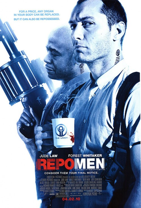 Repo men | Head of Make-Up Design