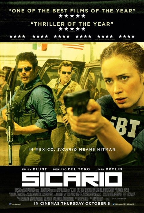 Sicario | Head of Make-Up Design