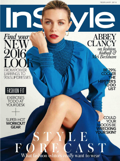 instyle | abbey clancy