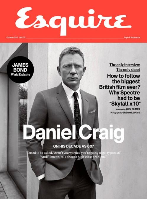Esquire   Daniel Craig