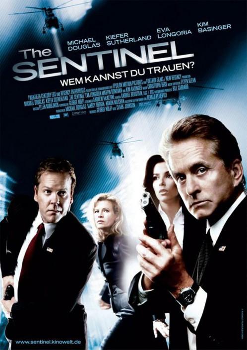 The Sentinal   Keifer Sutherland & Eva Longoria