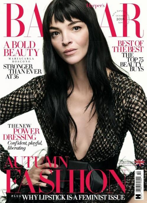 Harper's Bazaar | Mariacarla Boscono