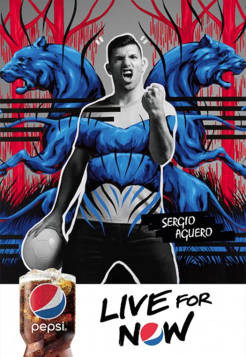 Pepsi Campaign | Sergio Aguero