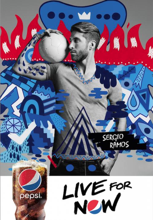 Pepsi Campaign | Sergio Ramos