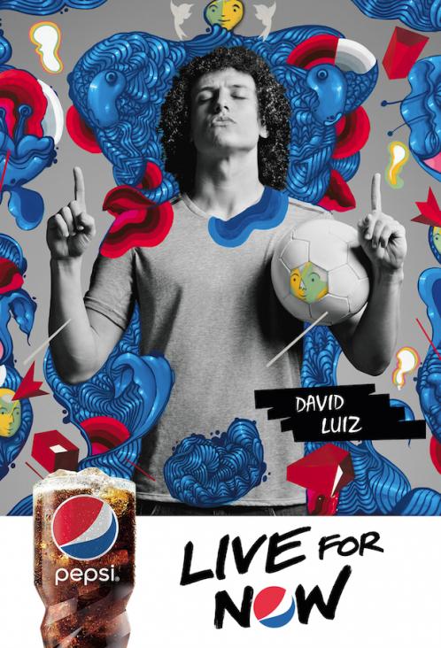 Pepsi Campaign | David Luiz