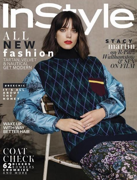 Instyle | Stacy Martin