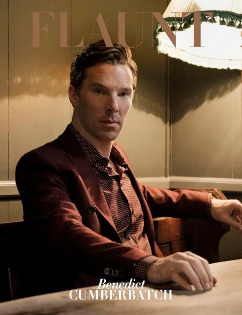Flaunt | Benedict Cumberbatch