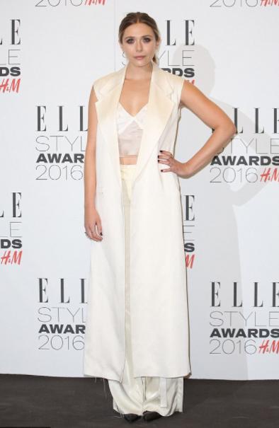 elizabeth olsen | elle style awards