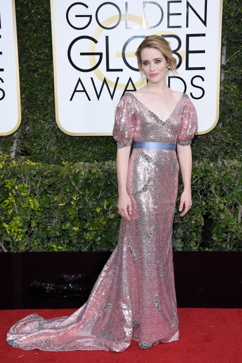 Claire Foy | Golden Globes