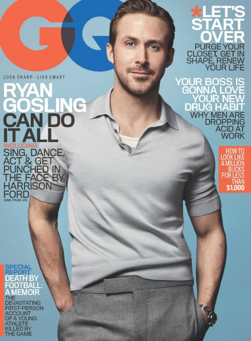 Ryan Gosling   GQ USA
