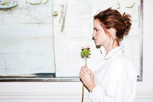 EMMA WATSON | into the gloss