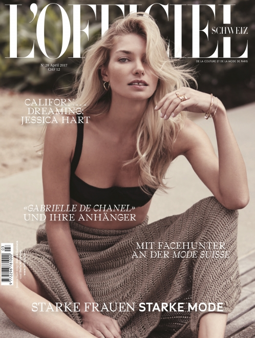 L'Officiel | Jessica Hart