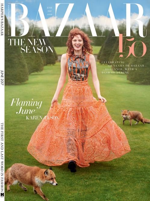 Harper's Bazaar | Karen Elson
