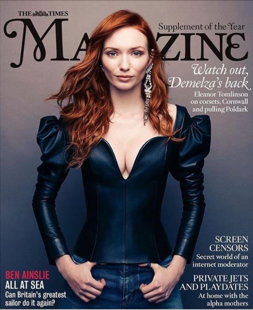 Times Magazine | Eleanor Tomlinson