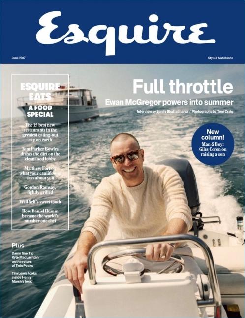 Esquire   Ewan McGregor