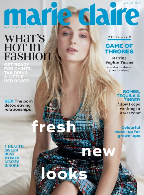 marie claire | Sophie turner