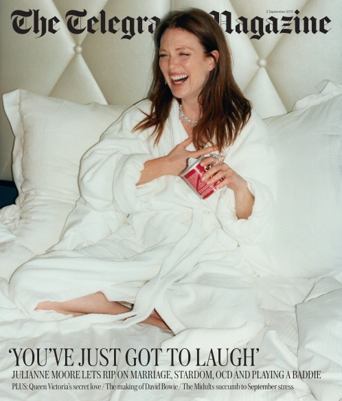 TELEGRAPH X JULIANNE MOORE