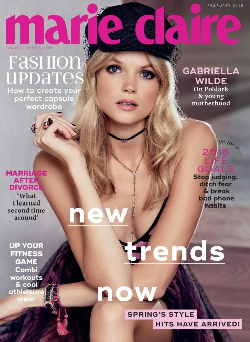 Gabriella Wilde | Marie Claire UK