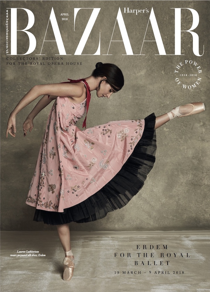 HARPERS BAZAAR | ERDEM AT ROYAL BALLET