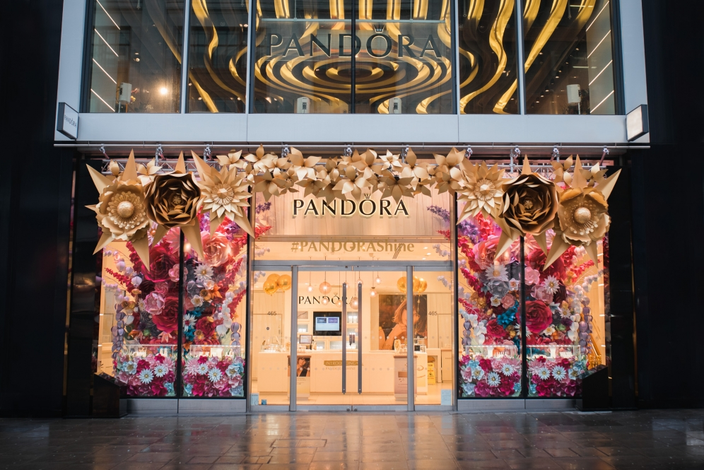 Pandora Shine | Marble Arch Store Window