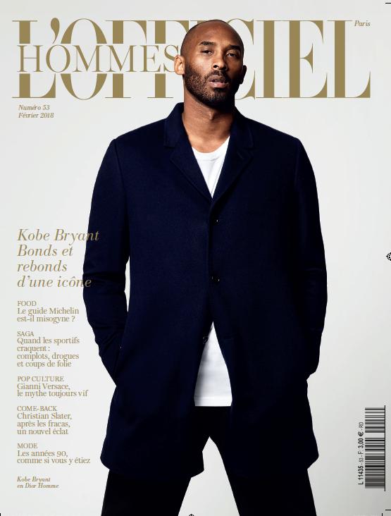 L'officiel Hommes Paris | Kobe Bryant