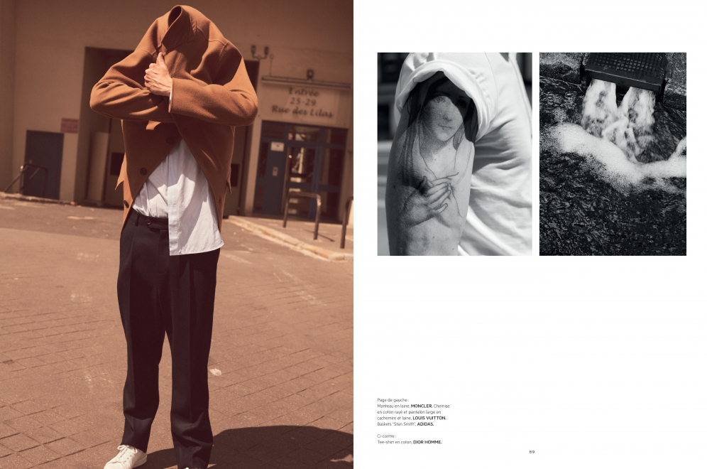 L'officiel Hommes | Arnaud Valois