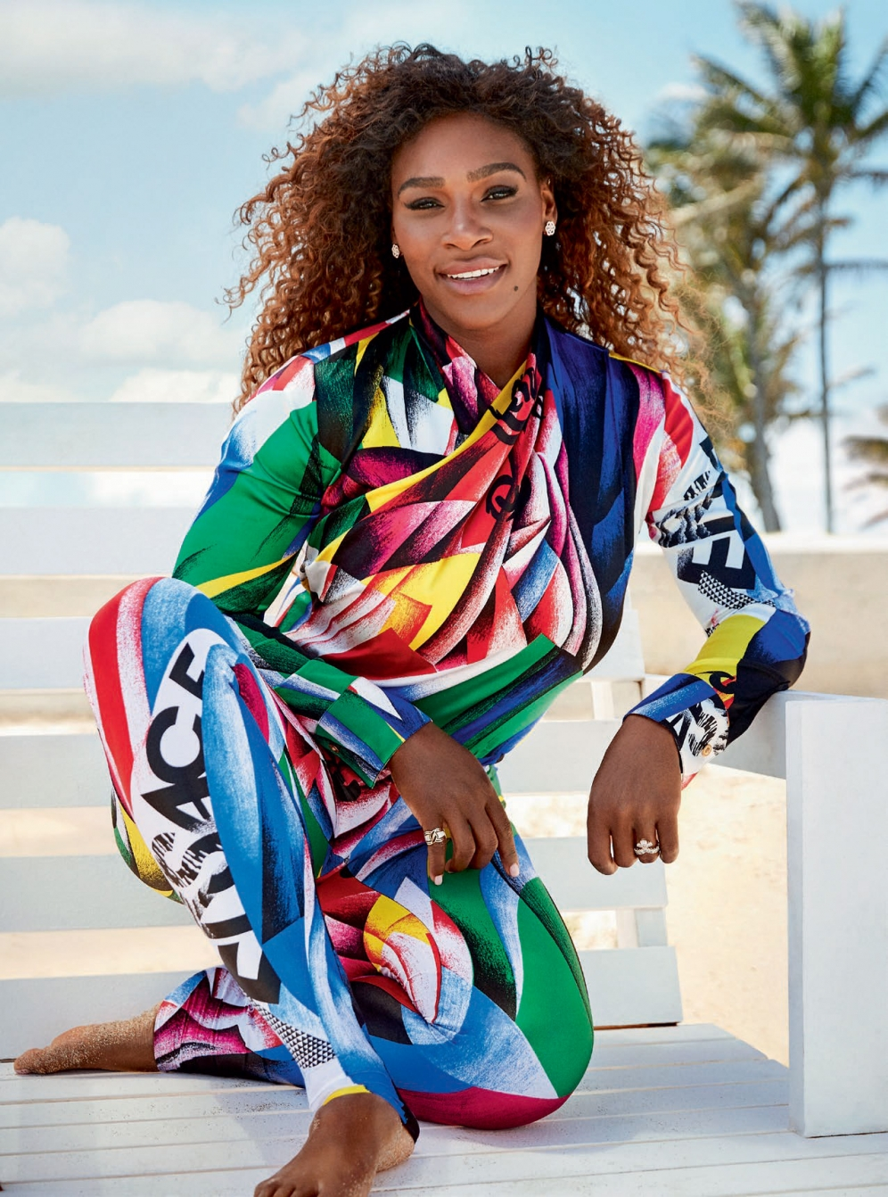 Serena Williams   Harpers Bazaar