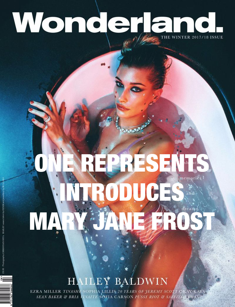 ONE REPRESENTS INTRODUCES Mary Jane FROST