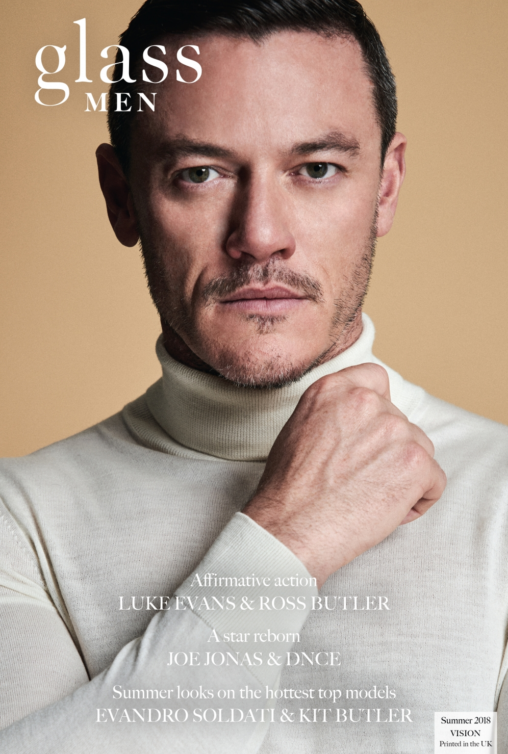 Glass Magazine | Luke Evans