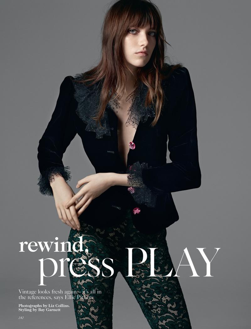 Vogue | Rewind, press play