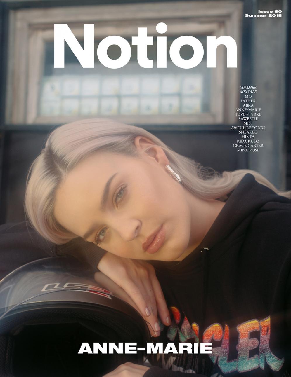 NOTION MAGAZINE | Anne Marie