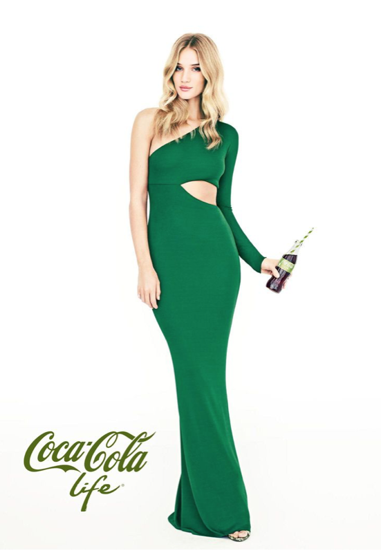 Coca Cola Life | Rosie Huntington-Whiteley