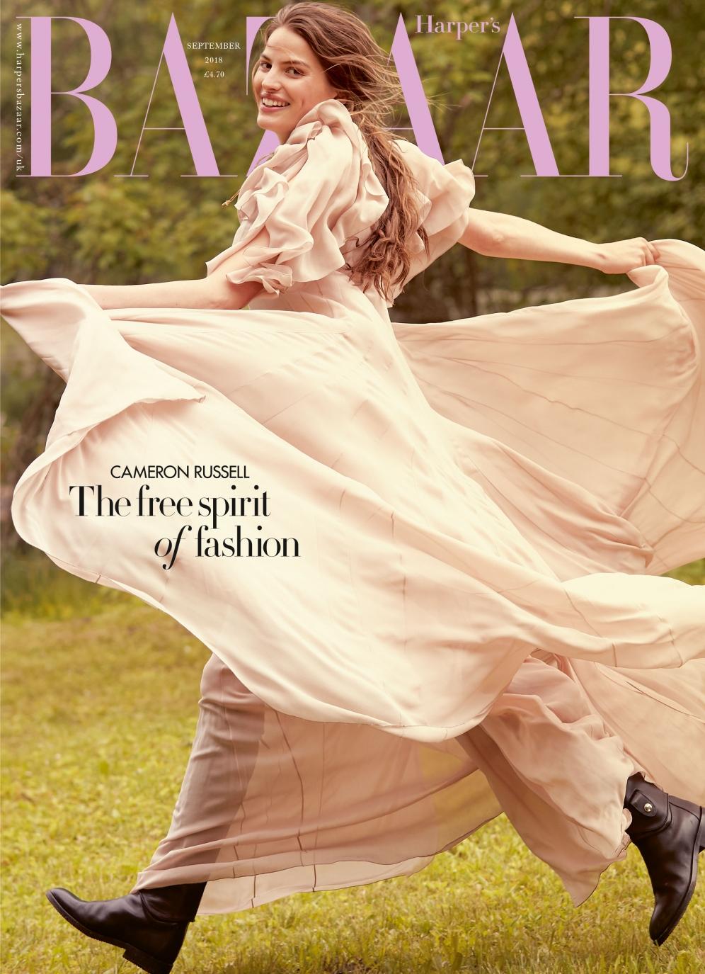 Harpers Bazaar | Cameron Russell