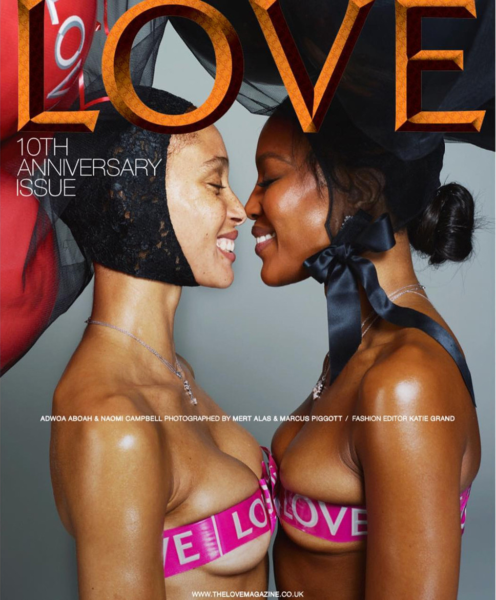 LOVE MAGAZINE X NAOMI CAMPBELL