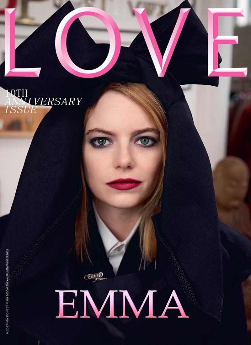 LOVE MAGAZINE | EMMA STONE