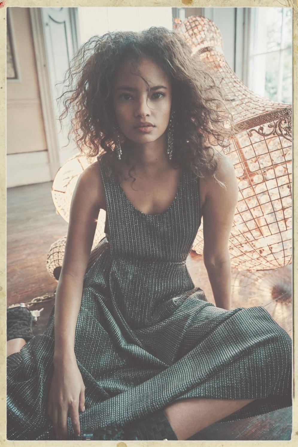 Harpers Bazaar | A gleam in her eyes