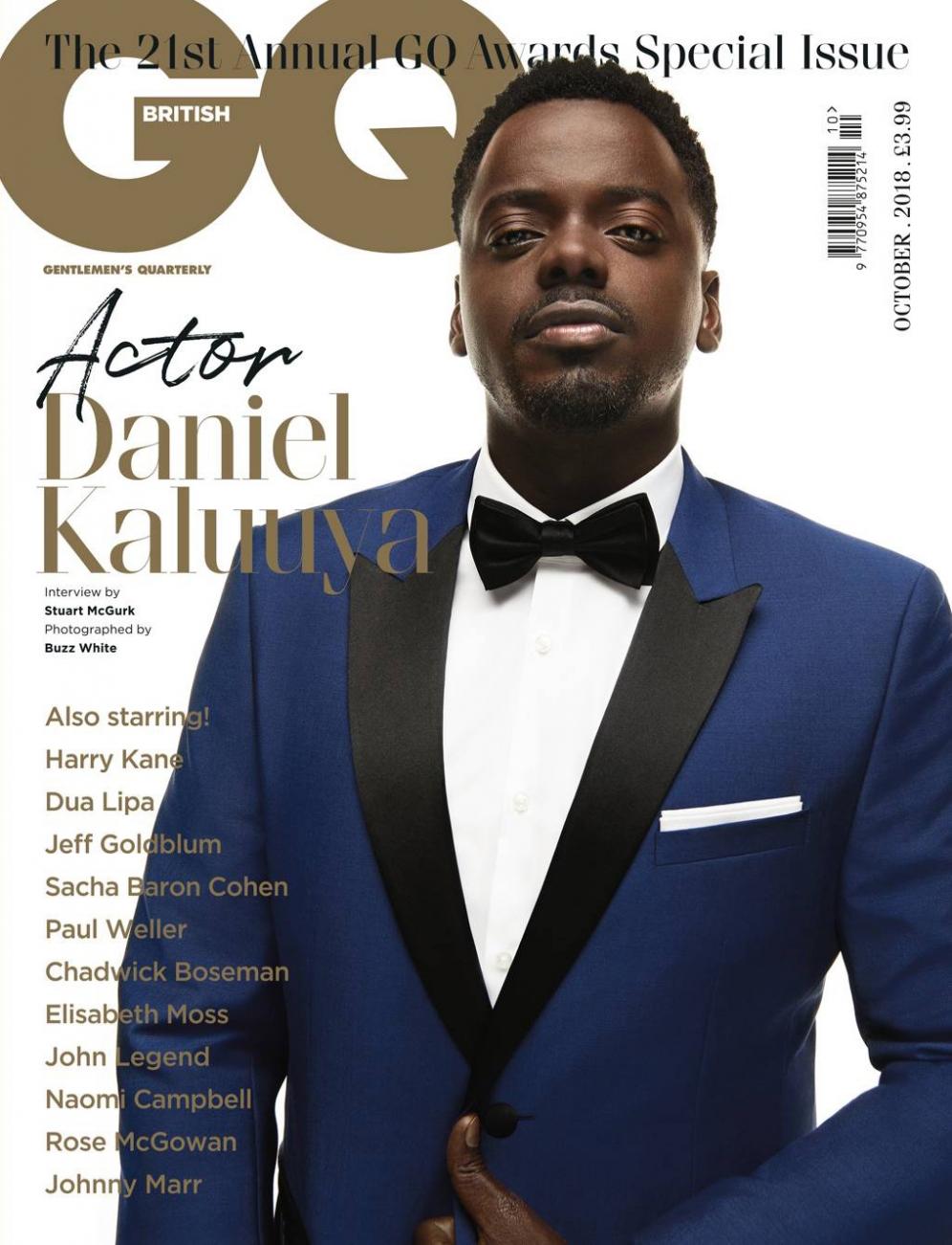 Daniel Kaluuya | GQ Awards Special