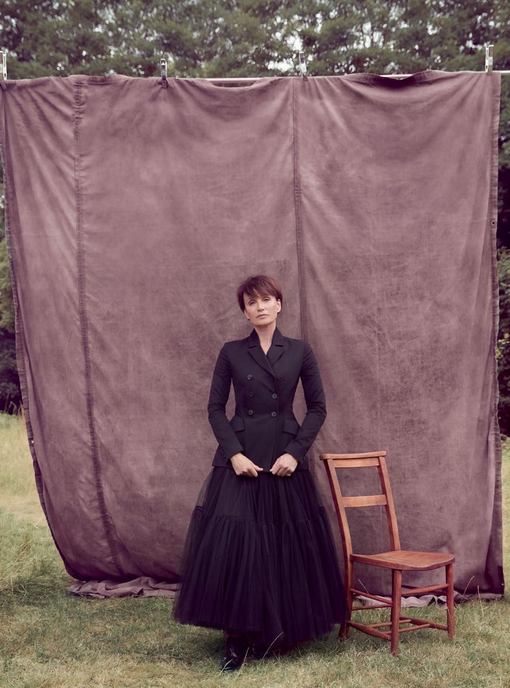 Harper's Bazaar | Kristin Scott Thomas