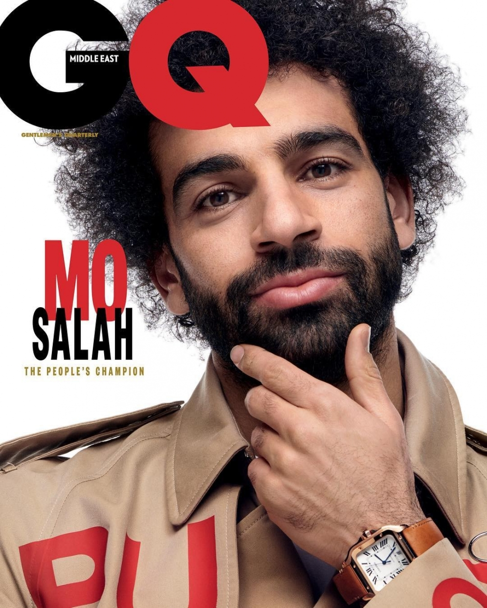 Mo Salah | GQ Middle East