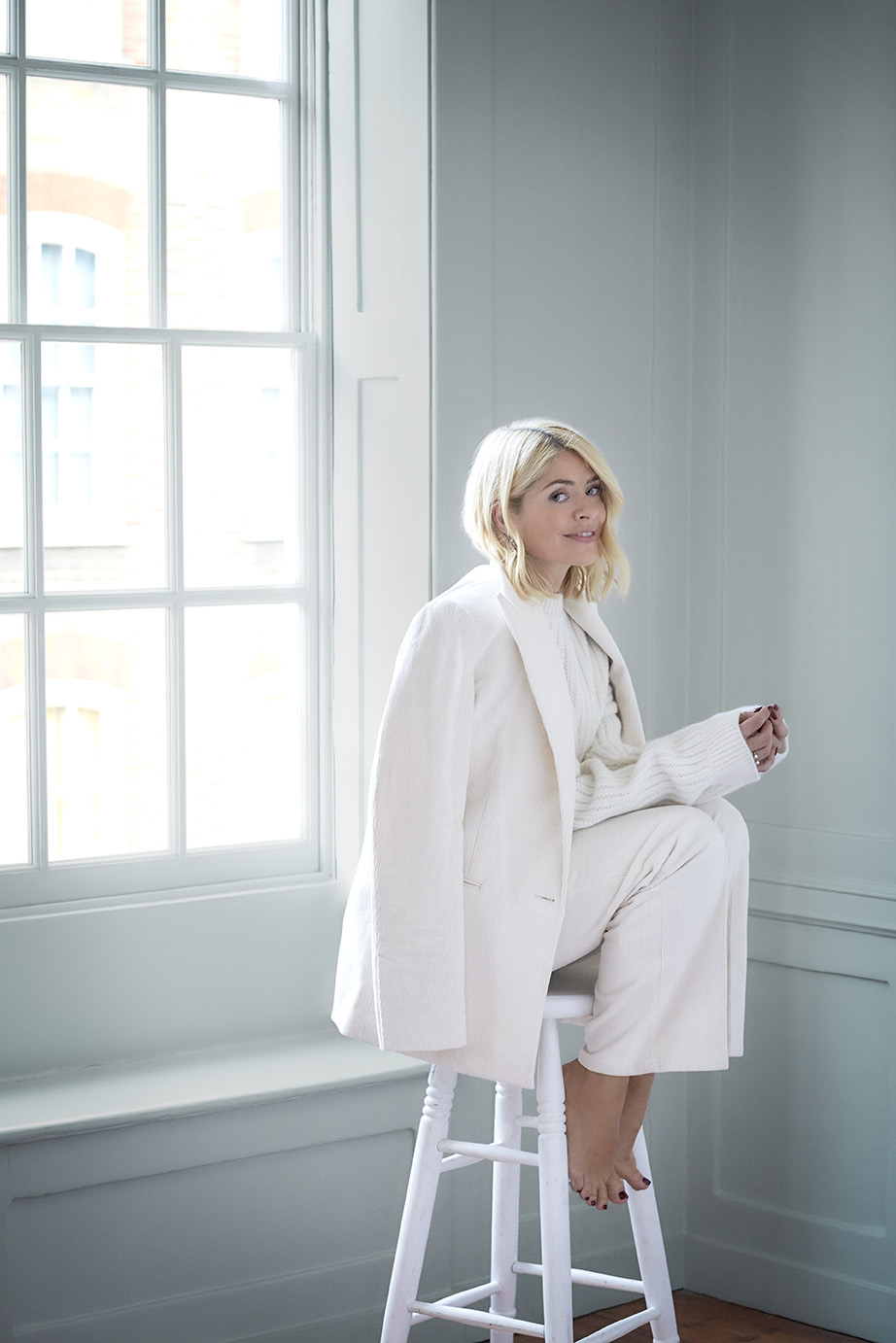 Red | Holly Willoughby