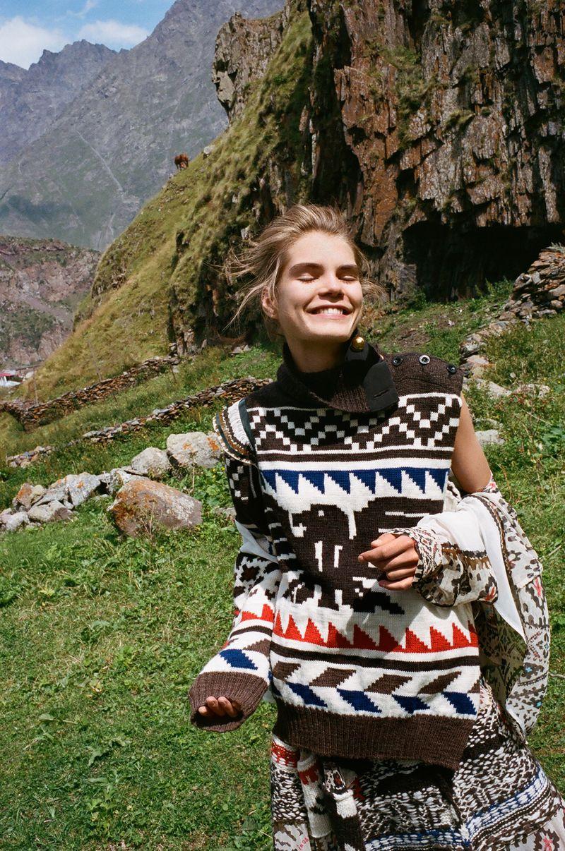 Sophie Rask   Vogue Poland