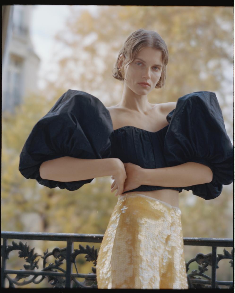Giedre Dukauskaite in Paris