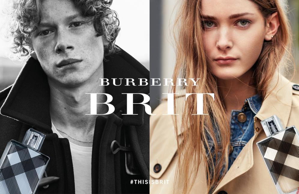 BURBERRY BRIT CAMPAIGN
