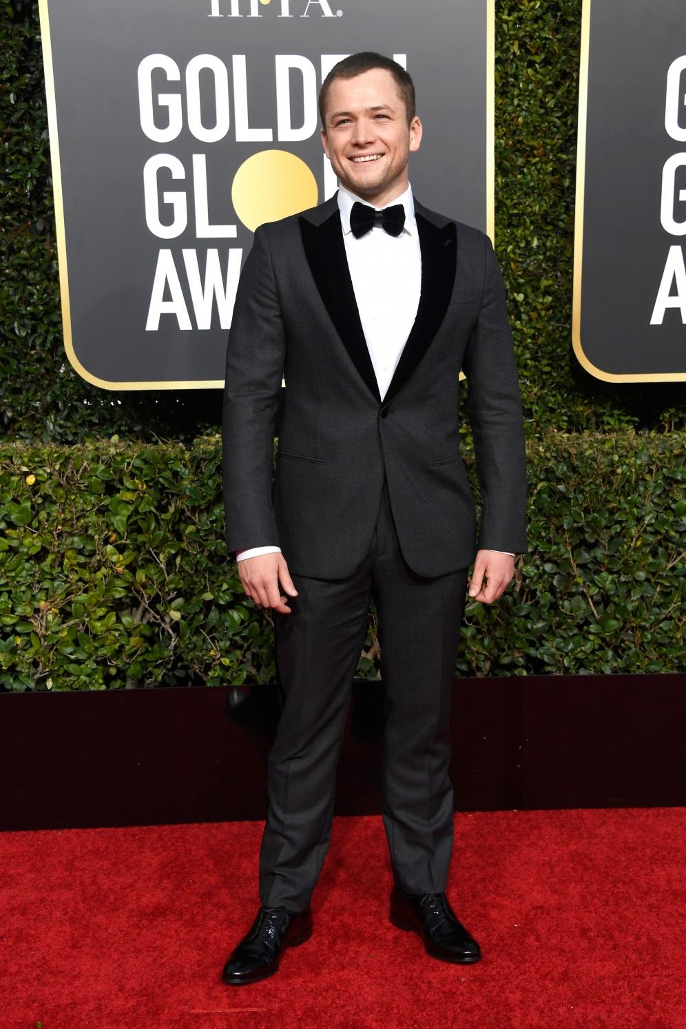 Taron Egerton | Golden Globes 2019