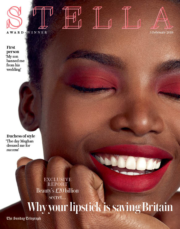 Stella Magazine   Bright Make-up the Grown-up Way
