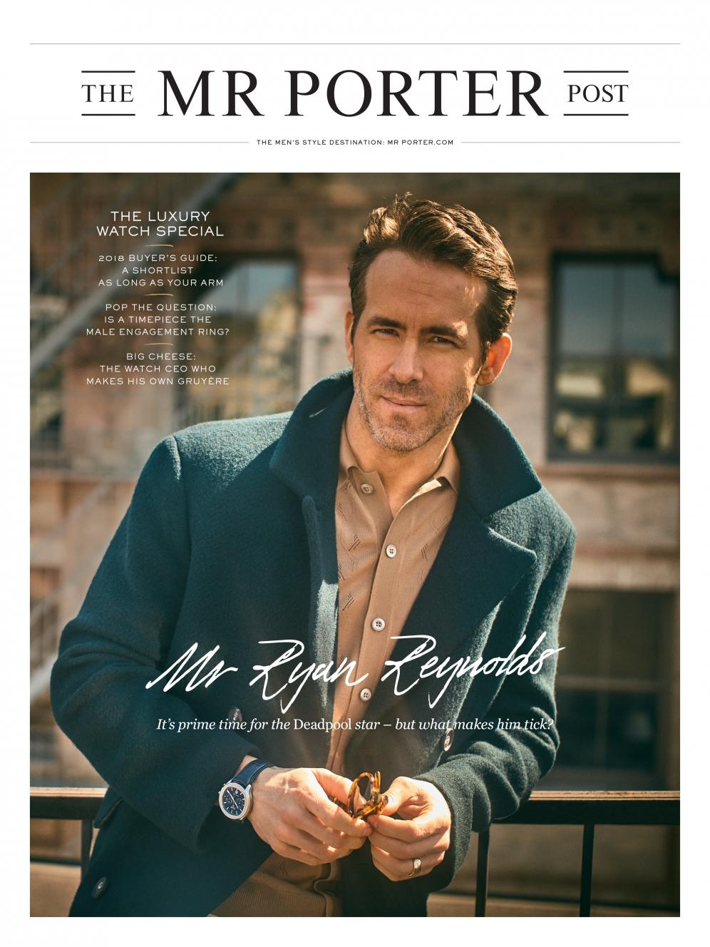 Mr. Porter | Ryan Reynolds