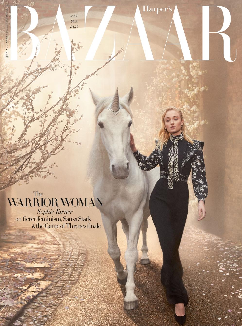 Sophie Turner | Harpers Bazaar