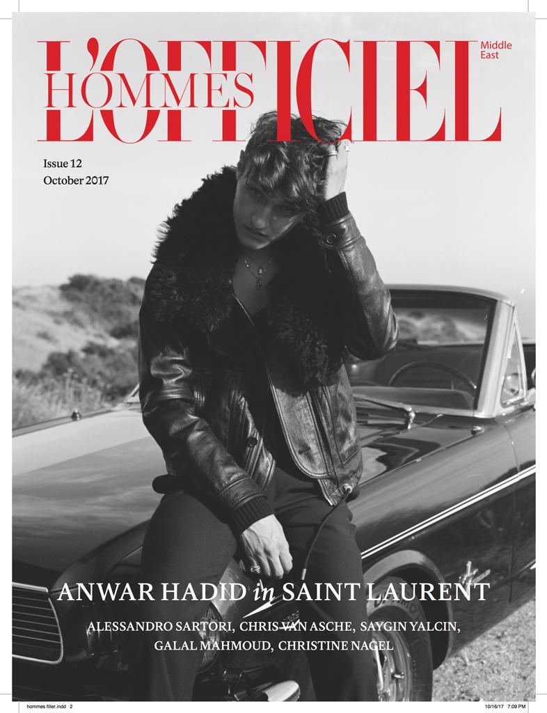 Anwar Hadid | L'Officiel ME